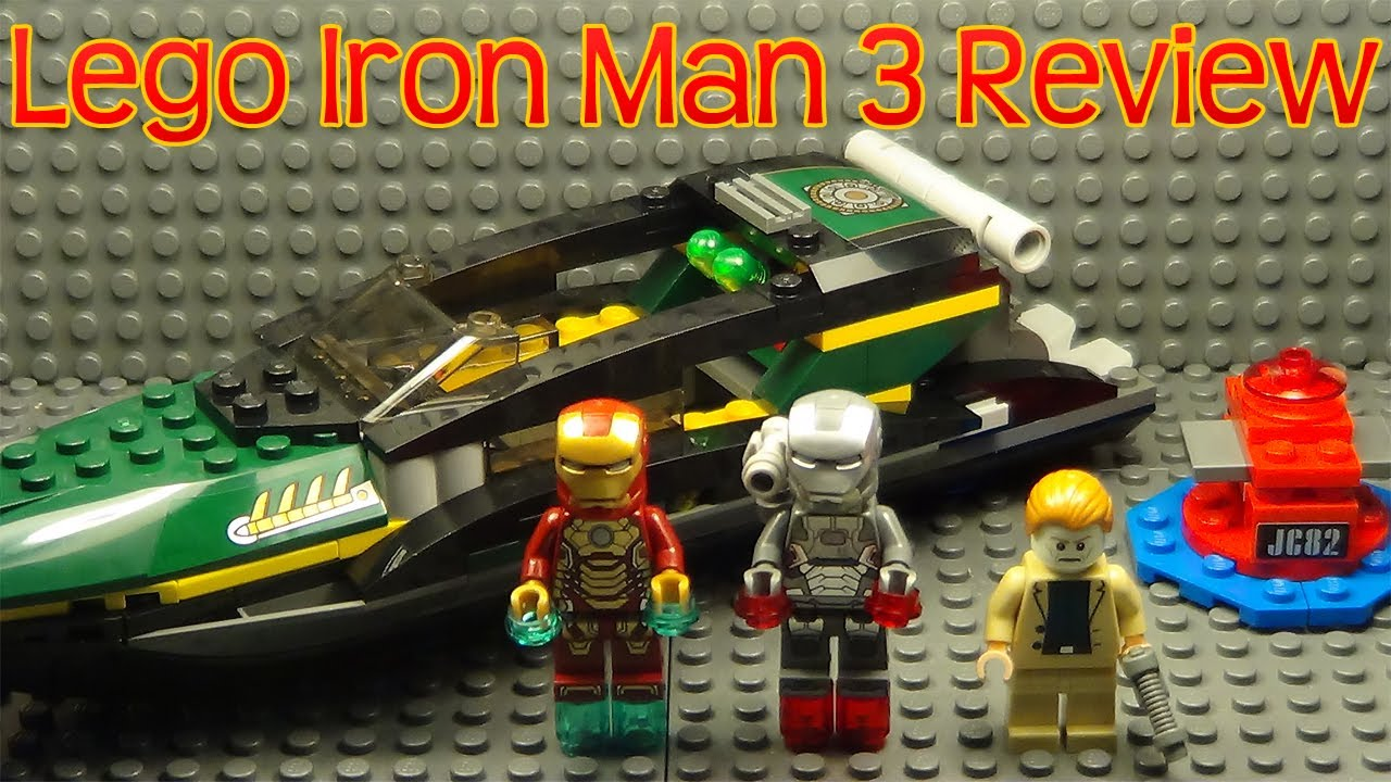 Lego iron man 3 extremis sea port battle review set 76006 - Lego iron man extremis sea port battle ...