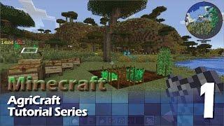 AgriCraft Tutorial #1 - Mechanics