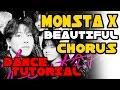 MONSTA X 몬스타엑스 BEAUTIFUL CHORUS DANCE TUTORIAL MIRRORED | TAMA CHANN