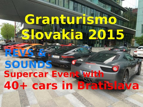 Granturismo Slovakia 2015 - Supercar Event with 40+ cars in