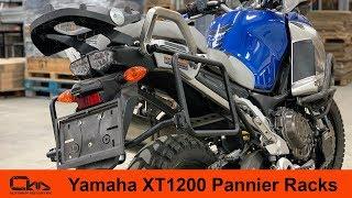 Yamaha XT1200 Pannier Racks Installation