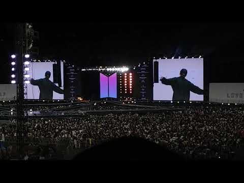 [Fancam]BTS WORLD TOUR 'LOVE YOURSELF' SEOUL CONCERT Ending VCR