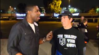 Anaheim Ducks vs Los Angeles Kings Freeway Faceoff February 2013 Part 4