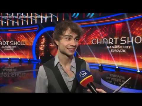Alexander Rybak Interview with Markiza TV Chart show 22 05 19