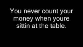 kenny rogers gambler + lyrics