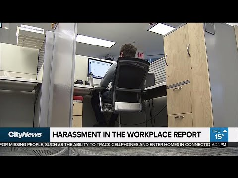 Most incidents of workplace harassment not reported, government survey finds