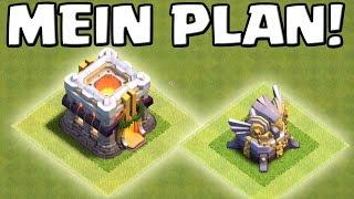 [update talk] MEIN RATHAUS 11 PLAN! || Clash of Clans [Deutsch/German HD+]