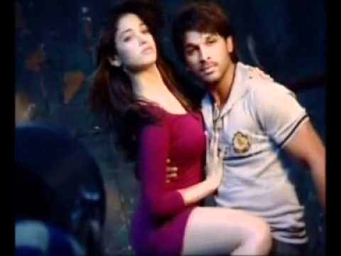 photoshoot of allu and tamanna of south scope.flv