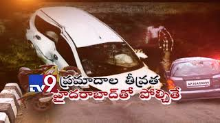 AP and Telangana in Top 10 in All India Road accidents - TV9