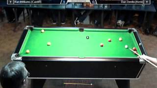 BUCS-UPC Eight-ball Championships 2014-15 - Ifan Williams vs Dan Devlin