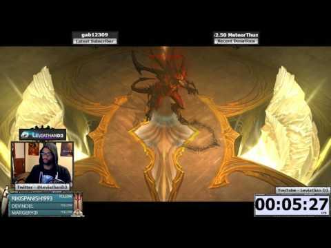 [Diablo 3] Season 11 Highlight - Solo Boss Mode Conquest