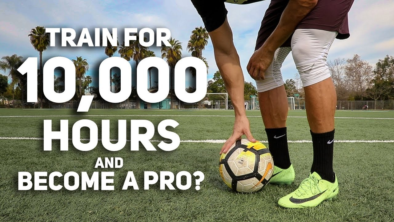 Is the 10,000 Hour Rule True for Soccer?