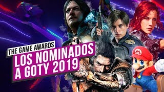 GAME AWARDS: SORPRESAS y AUSENCIAS en los NOMINADOS a GOTY
