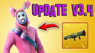*NEW UPDATE* EGG LAUNCHER, GUIDED LAUNCHER (Fortnite) (Patch Notes v3.4)