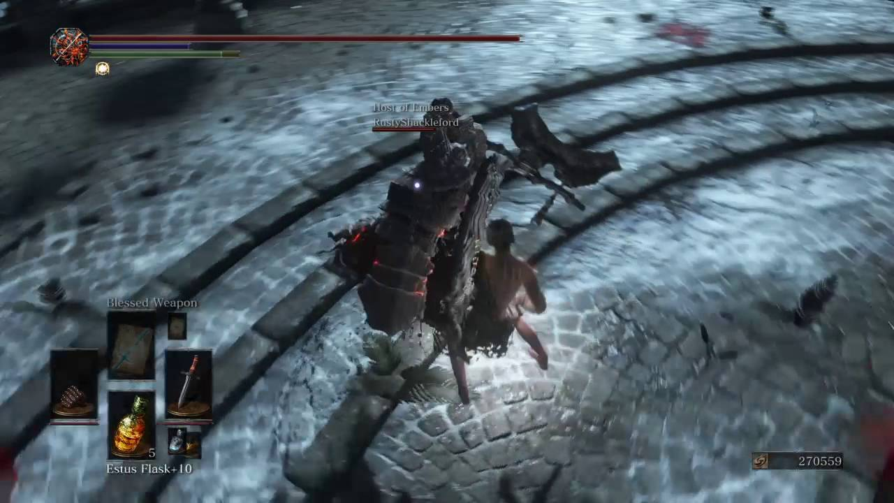 Dark Souls  Scrub Build