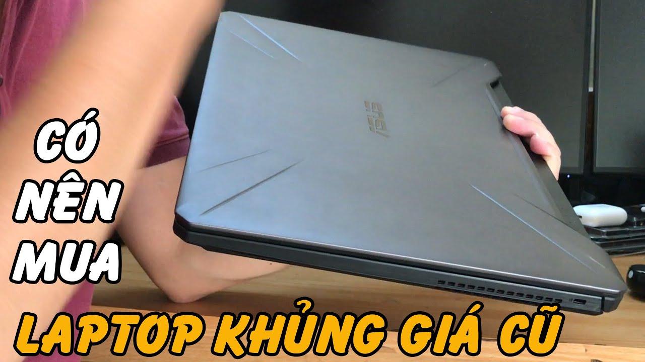 Laptop gaming khủng giá cũ siêu mỏng cánh