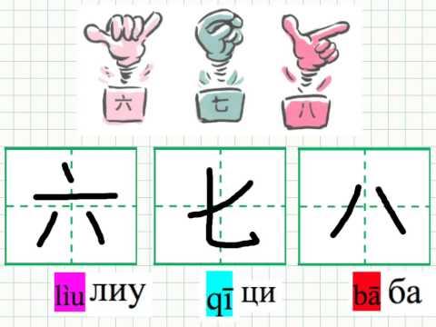 Видео как писать иероглифы