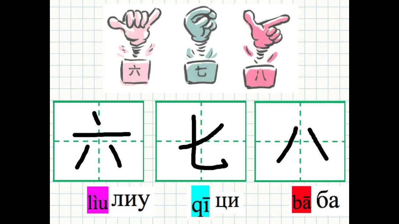 фото китайские буквы