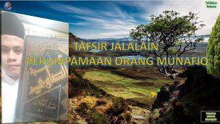Praktek Baca Kitab Kuning; Tafsir Jalalain; Kajian Ilmu Nahwu PERUMPAMAAN ORANG MUNAFIQ ; Part 8