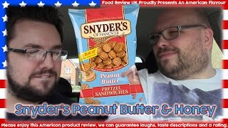 Snyder's Peanut Butter & Honey Pretzel Sandwiches Review