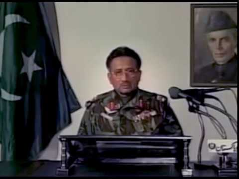 General Pervez Musharraf Takes Over The Country – October 12, 1999