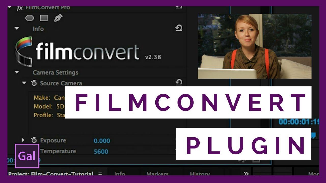 Turn Video into Film in Adobe Premiere Pro CC I filmconvert