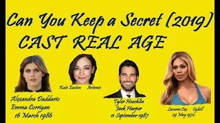 Can You Keep A Secret Cast Real Age
