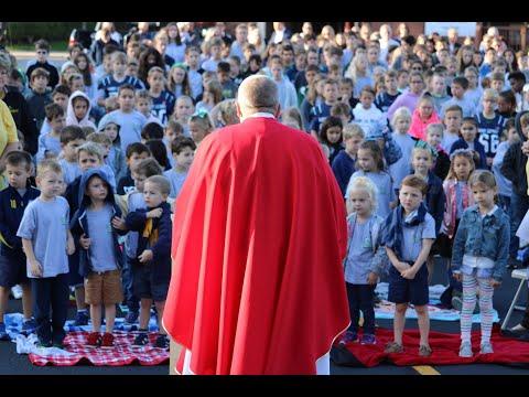 """Trusting in Jesus as Our Parish School Moves Forward"""