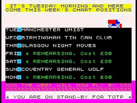 The Biz Walkthrough, ZX Spectrum