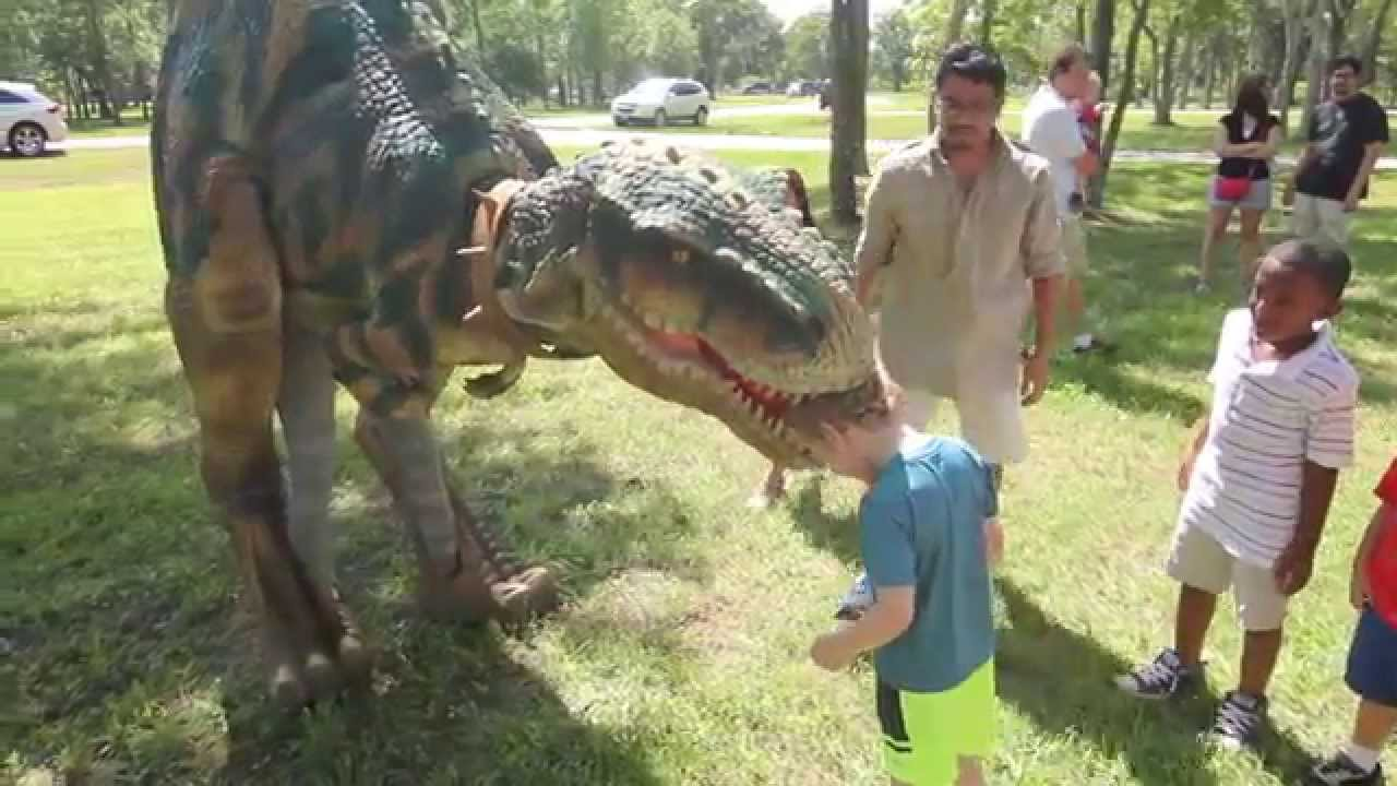 Walking Dinosaur Costumes for Birthday Parties Jurassic Extreme