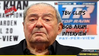 Bob Arum Interview-Terence Crawford on a Life Time Top Rank Contract?🤯