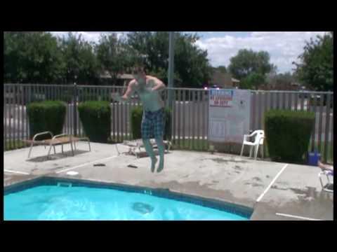 Slo-Mo Pool Jumps