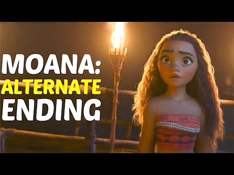 What If Disney Moana Ended Like This |   Moana Alternate Ending Video |   Moana Movie