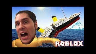PopularMMOs Pat and Jen Roblox - SURVIVE THE TITANIC!!!