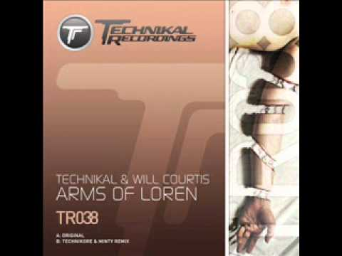 Technikal & Will Courtis Feat. Nathalie - Arms Of Loren (Original Mix)