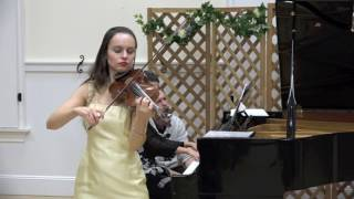 """Liebesleid"" (Kreisler) - Kinga Augustyn, violin - Kalina Mrmevska, piano"