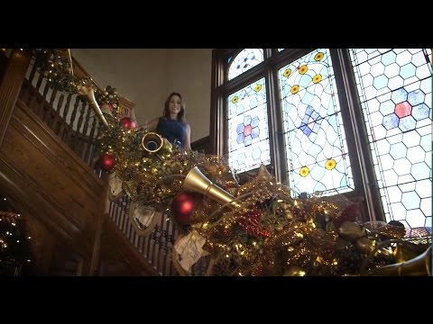 Holiday Tour of Historic Stetson Mansion, Florida's First Luxury Mansion