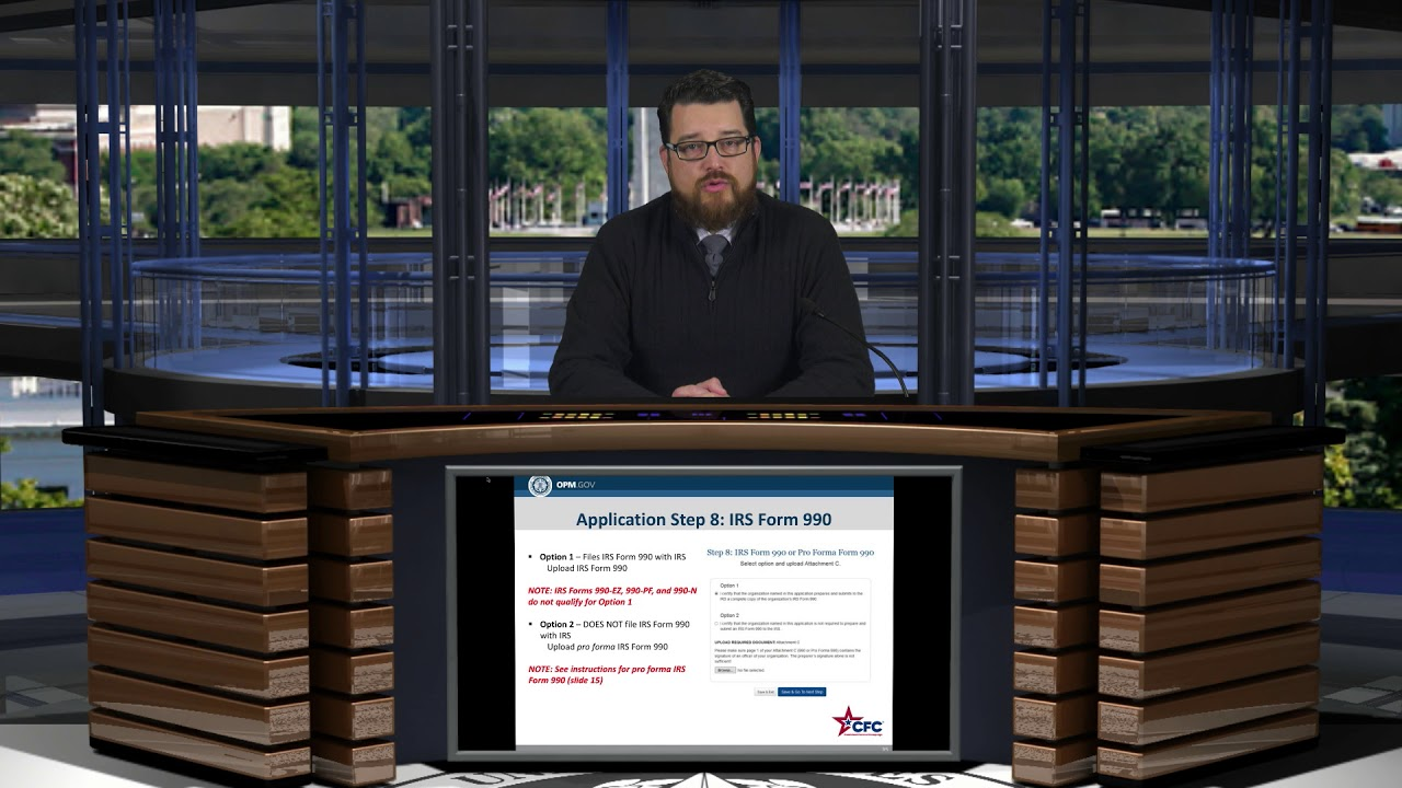 Step 8 Irs Form 990 Or Pro Forma Form 990 Youtube