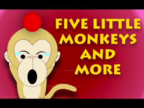 Five Little Monkeys And Many More | Nursery Rhymes Collection