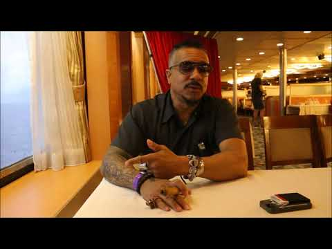 Freedom Williams of C & C Music Factory performs and interviews on 90's Hip-Hop cruise, Ship-Hop.