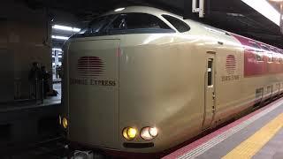 【臨時列車】サンライズ出雲92号 東京行き 大阪駅にて