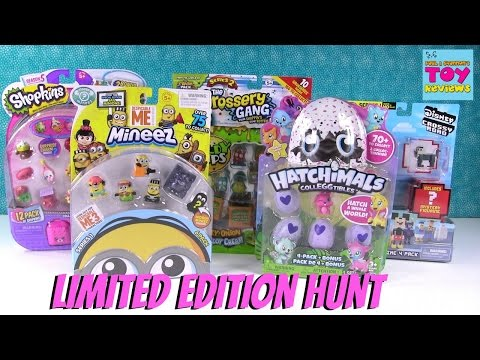Limited Edition Hunt Minions Hatchimals Shopkins Disney & More Toy Review | PSToyReviews