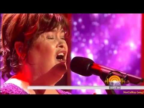 """Susan Boyle ~ """"You Raise Me Up"""" ~ on new Album """"Hope"""" (Today Show 2 Oct 14)"""