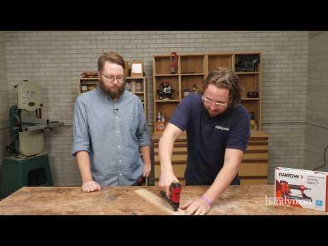 Stuff We Love: Arrow Fastener PT50 Pneumatic Stapler