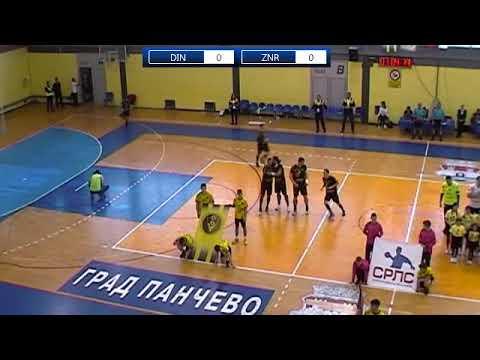 2. kolo PlayOff 2018-2019 / SRLS / RK Dinamo - RK Železničar 1949