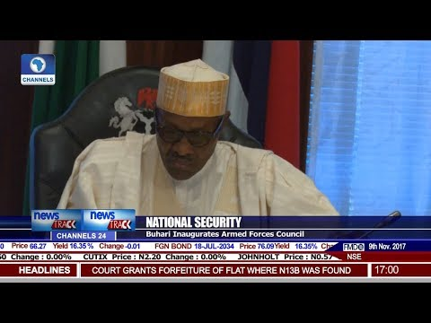 Buhari Inaugurates Armed Forces Council