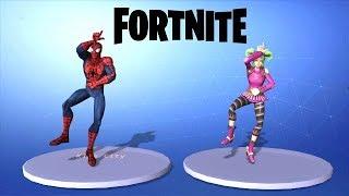 spider man with dance emote