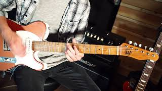 Walsh Guitars Kavod demo + Kemper + Gemini Pickups