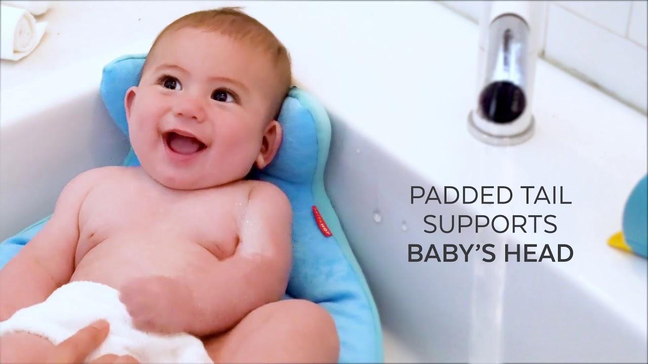 Lavandino Bimbi Ok Baby.Vaschetta Soft Da Lavandino Skip Hop Moby Sink Bather Youtube