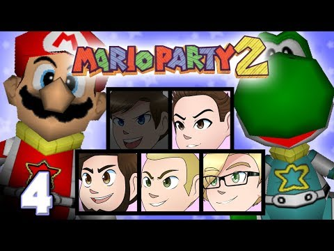 Mario Party 2: Thwomps in Space - EPISODE 4 - Friends Without Benefits